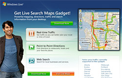 live-search-gadget