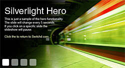 silverlight hero development
