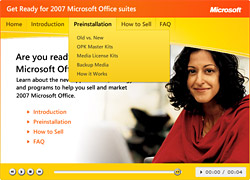 MS Office Flash Demo